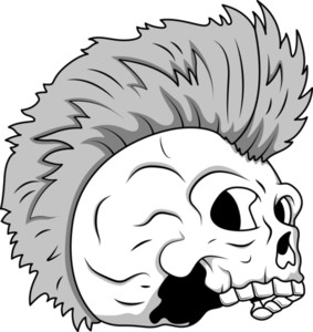 Skull Tattoo Illustration