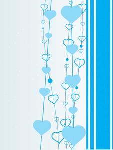 Skyblue Background Illustration