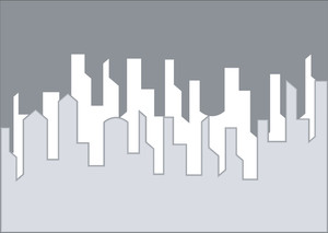 Skyline Shapes Background