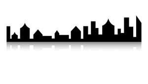 Skylines Shape Vector
