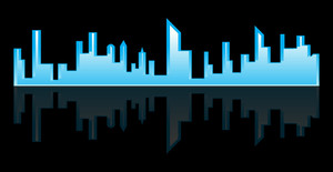 Skylines Vector Background