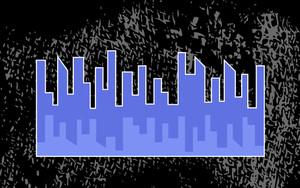 Skyscraper Grunge Background