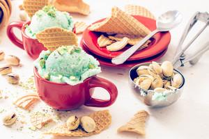Pistachios Ice Cream