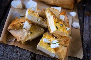 Slice Cheese Pie