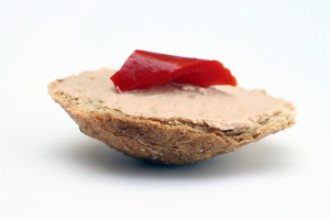 Slice Of Toasted Bread And Liver Pate