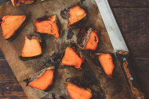 Sliced Grilled Pumpkin