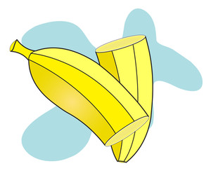 Slices Of Banana