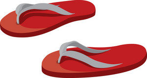 Slippers Vector Element