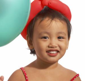 Small Kid Celebrating Her Birthday