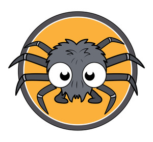Small Spider Vector Illustration