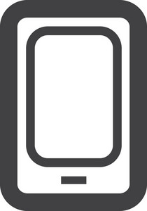 Smart Phone Stroke Icon