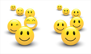 Smiley Design Vectors