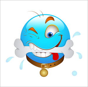 Smiley Emoticons Face Vector - Hungry