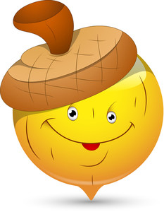 Smiley Vector Illustration - Beechnut Face