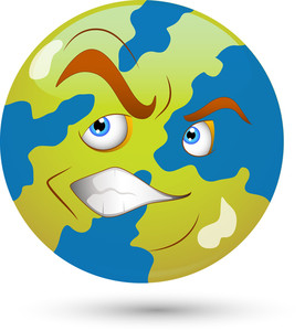 Smiley Vector Illustration - Earth