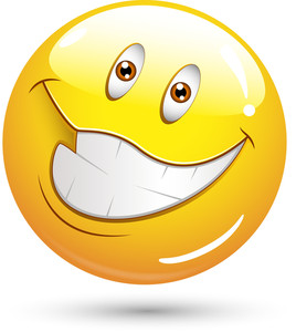Smiley Vector Illustration - Very Happy Face