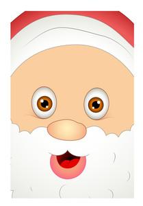 Smiling Christmas Santa