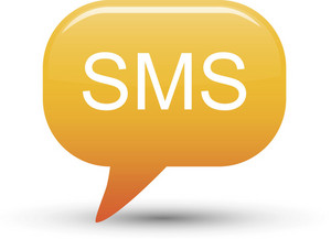 Sms Message Bubble Orange Lite Communication Icon