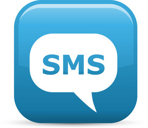 Sms Text Message Elements Glossy Icon