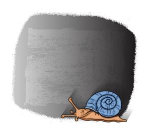 Snail Grunge Banner