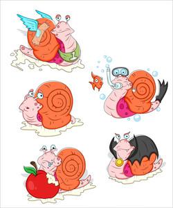Snail Vectors