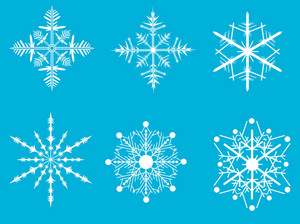 Snow Flakes Colection Set 2