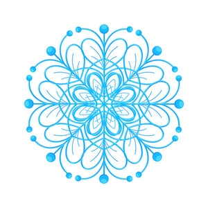Snowflake Decorative Element