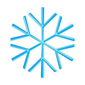Snowflake Design Art Vector