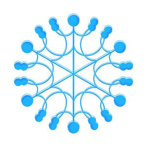 Snowflake Design Art