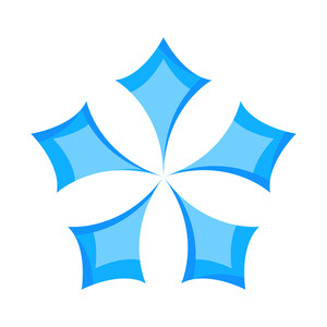 Snowflake Design Star Element