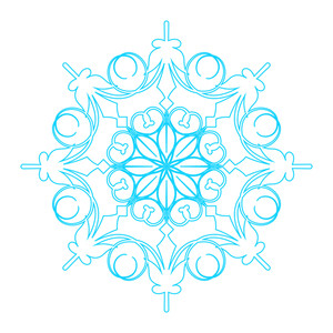 Snowflake Element Art