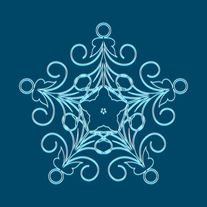 Snowflake Vector Art