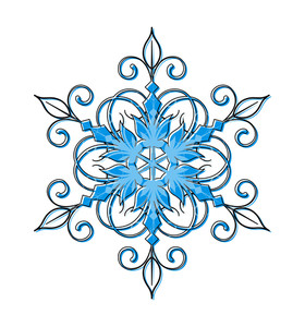 Snowflake Vector Design