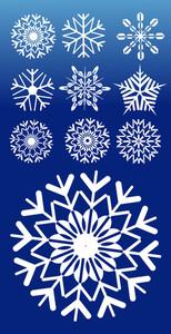 Snowflakes Vectors
