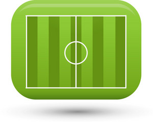 Soccer Football Field Lite Sports Icon