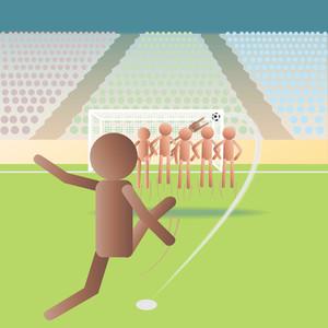 Soccer-free-kick