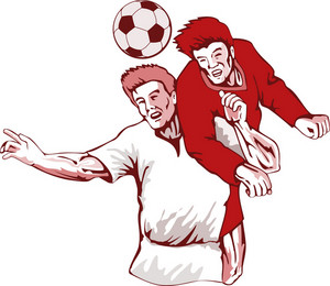 Soccer Player Header Bust
