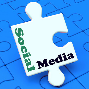 Social Media Shows Online Networking Community