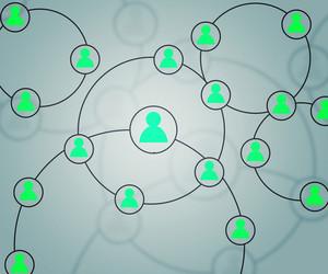 Social Network Teal