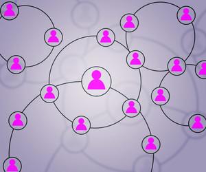 Social Network Violet