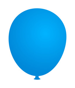 Soft Blue Balloon