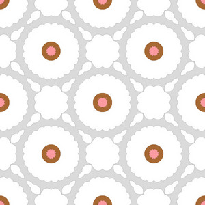 Soft Floral Fabric Pattern