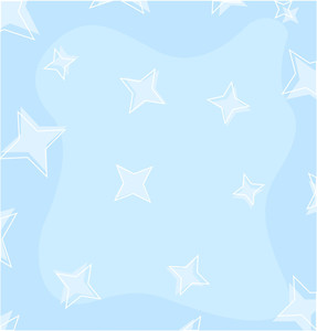 Soft Stars Background Vector