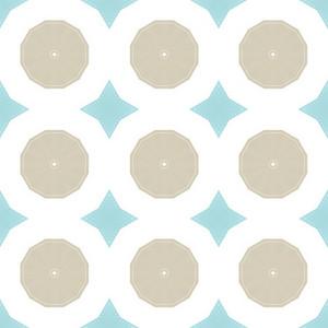 Soft Vintage Spheres Pattern