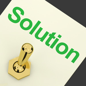 Solution Switch On Showing Success And Strategy