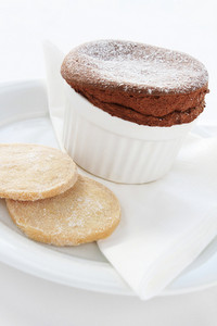Baked Chocolate Souffle