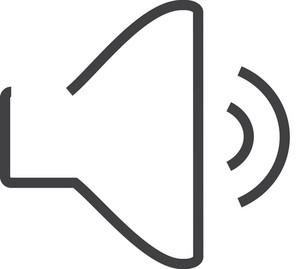 Sound 2 Minimal Icon