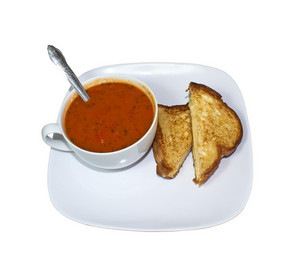 Soup With Sandwich 219