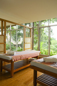 Spa open nature room