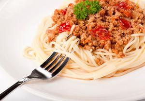 Spaghetti And Fork